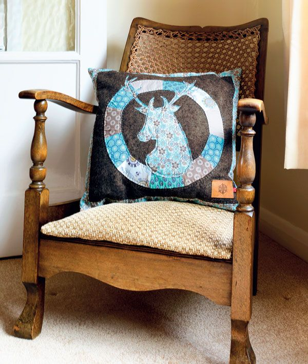 Nordic Stag Cushion